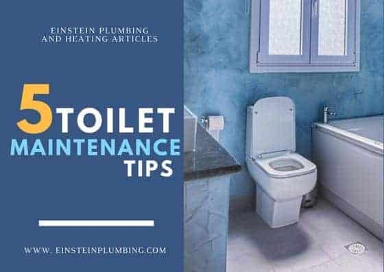 five toilet maintenance tips
