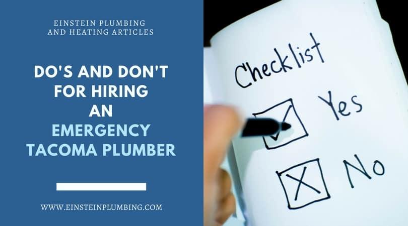 tacoma plumber