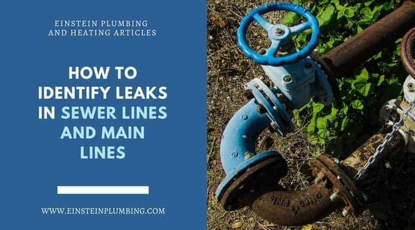 Sewer Lines and Main Lines