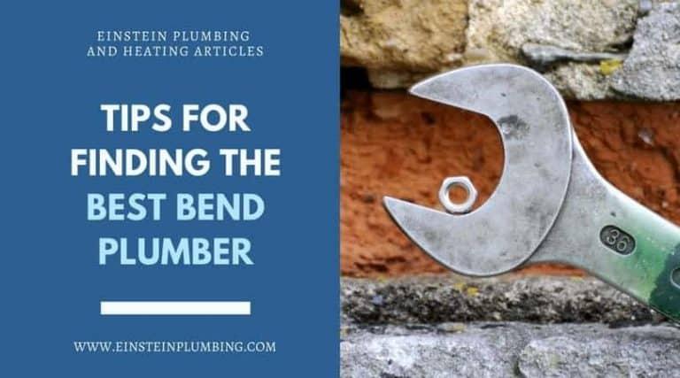 bend plumber
