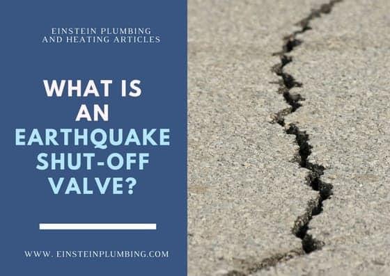 earthquake shut-off valve