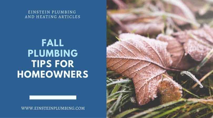 fall plumbing