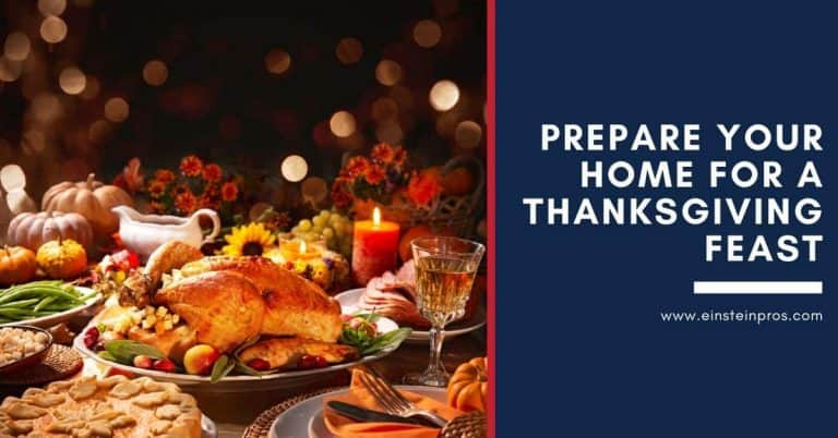 Prepare Your Home for a Thankgiving Feast
