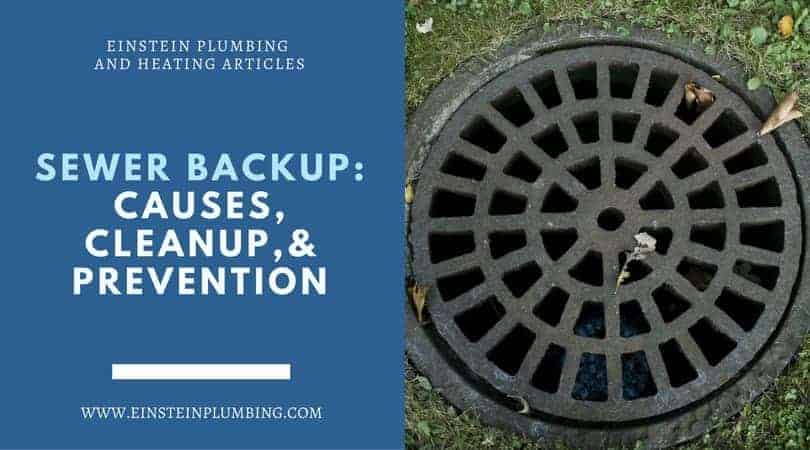 Sewer Backup causes and prevention