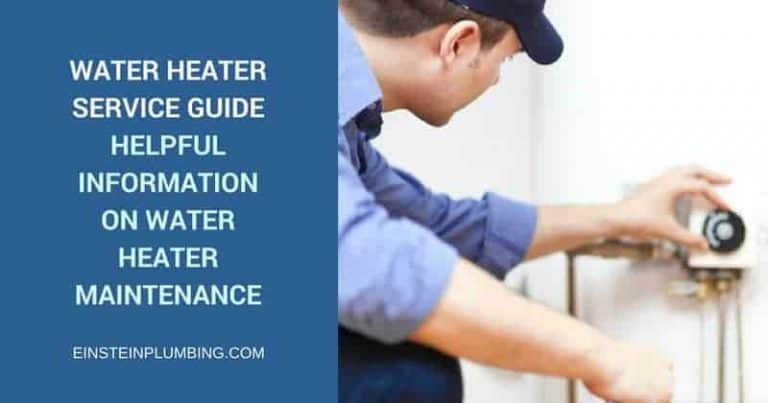 water heater service guide