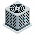 heat pump service icon