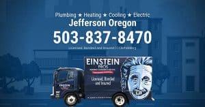 jefferson oregon plumbing heating cooling electric