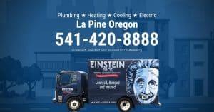 la pine oregon plumbing heating cooling electric