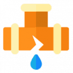 leak repair service icon