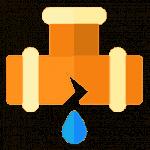 leak repair service icon