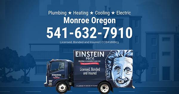 monroe oregon plumbing heating cooling electric