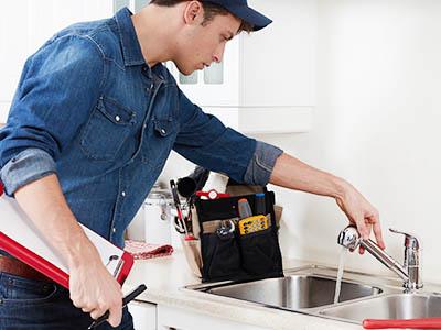 plumbing service box