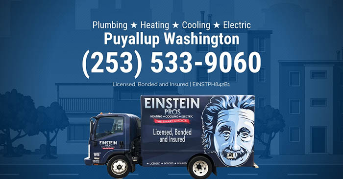 puyallup washington plumbing heating cooling electric