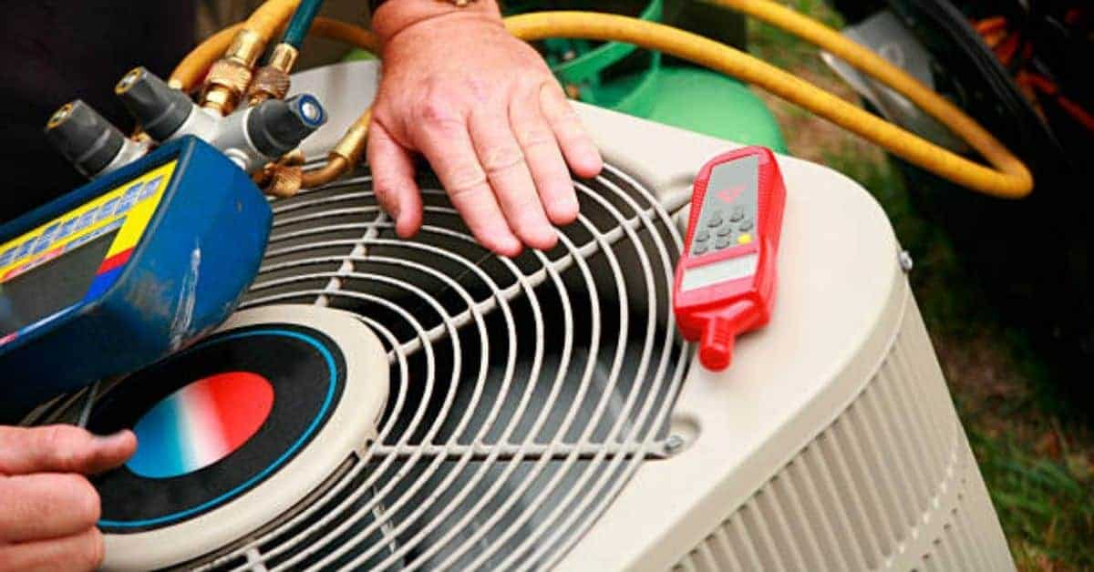 Heat Pump Repair Services Heating And Cooling Hvac