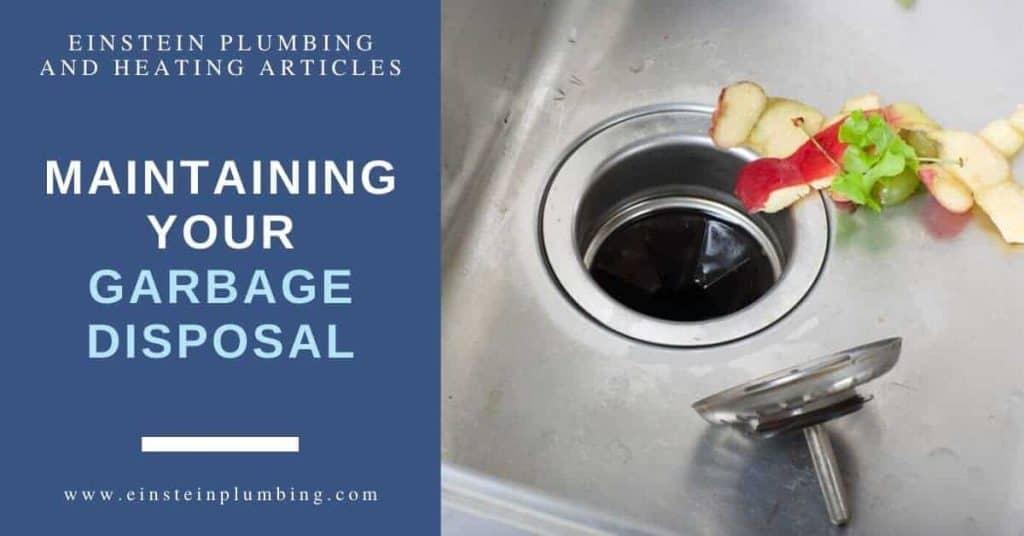 Maintaining your Garbage Disposal Image