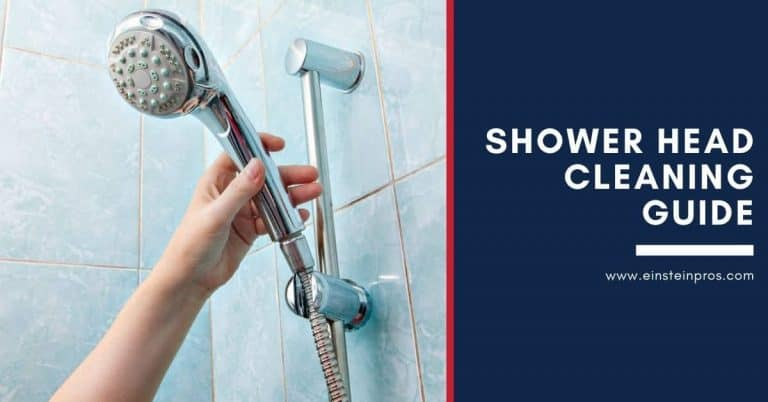 Shower Head Cleaning Guide Einstein Pros Plumbing