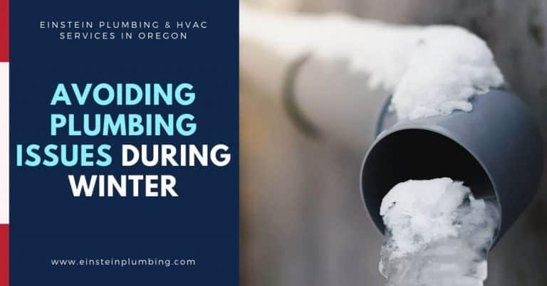 Avoiding Plumbing Issues During Winter Season in Oregon